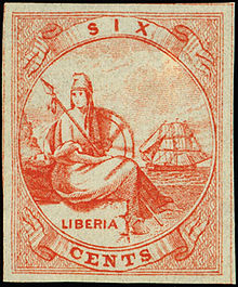 220px-1864_stamp_of_Liberia