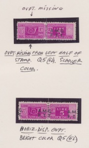 Trieste Stamps
