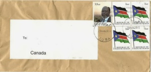 Consider The Stamps Of Africa