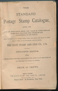 The 1895 Scott Catalog