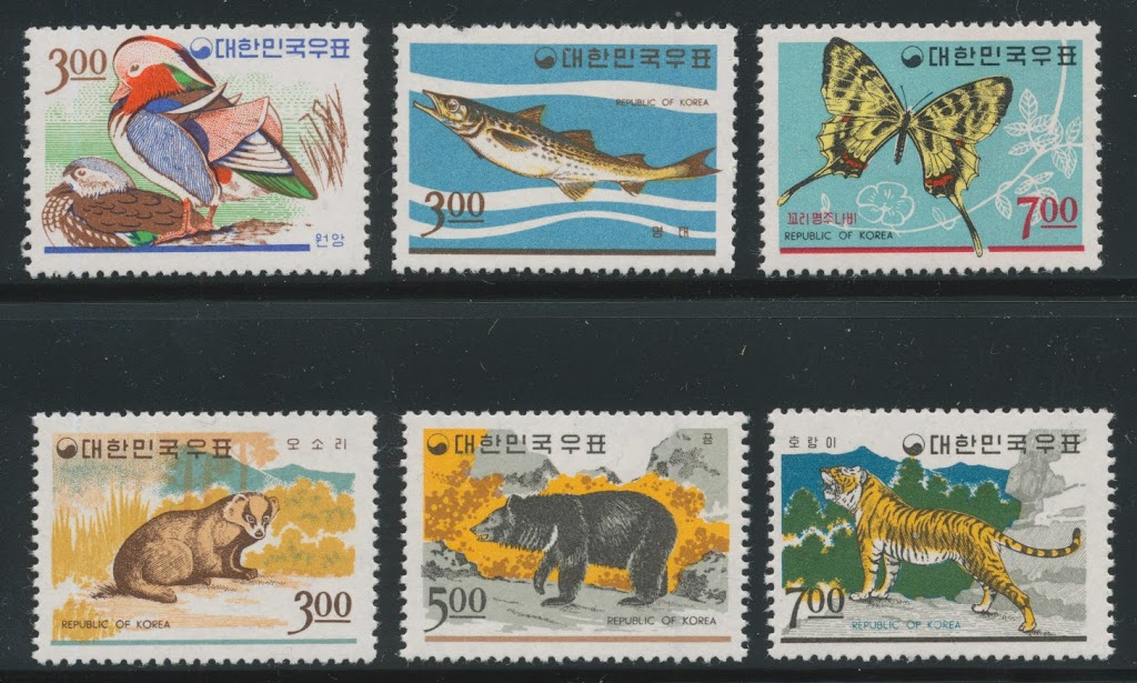 Collecting The Stamps Of South Korea