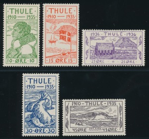 Three Types of Limited Issue Stamps