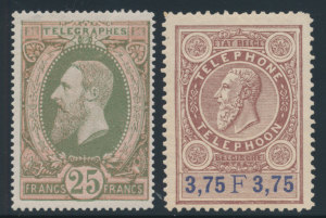 Telephone and Telegraph Stamps