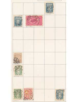 LATVIA & LITHUANIA - SPECIALIZED CANCELLATION STUDY This an exhaustive and very particular collection showcasing close to 200 different town cancels, covering great number of most remote post offices. The collection represents a very different approach to