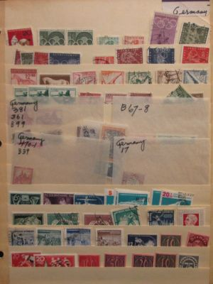 GERMANY - An appealing mint and used selection of close to 4,000 issues covering German philately with some material from the 19th century, strong focus on The Third Reich, as well as strong Bund, regular section and semi-postal. The selection in total ha