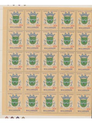(422), three sheets of 50, sheets are folded, EXTREMELY FINE, og, NH