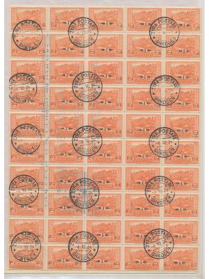 ALBANIA - DEALER'S LOT -  Thousands of stamps primarily from the 1960s separated by issue in glassines. All of the stamps are philatelically cancelled. General composition of the lot is in large blocks and even complete sheets of 50. This is an extensive