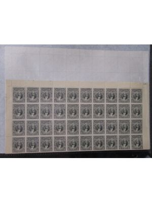 (152), sheet of 100, 11 sets of sheets of 100, F-VF, og, NH