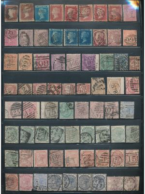 GREAT BRITAIN - HIGH QUALITY SELECTION OF THOUSANDS of different stamps beginning with very nice, high quality Victorian issues followed by excellent coverage of the early 20th century and highly complete to 1980, with light duplication of some items thro