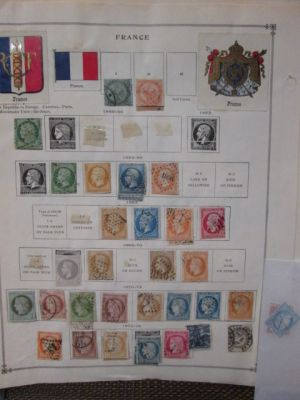 FRANCE - WONDERFUL COLLECTION WITH PREMIUM throughout, including excellent Ceres Heads and other high quality 19th century material, followed by good early 20th century up to about 1950, many mint and stored neatly on Scott Specialty pages. Premium materi