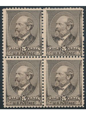 (205), block of 4, F-VF, og