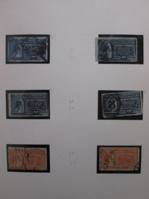 SPECIAL DELIVERY AND REGISTRATION STAMPS - Very nice specialized collection with value in covers and better singles