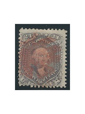(99), red cancel, VERY FINE