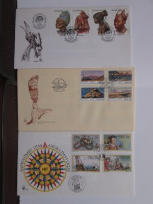 SOUTH AFRICAN AREA - FIRST DAY COVER selection - 405343