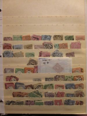 GERMANY - Very well organized mint and used selection of close to 400 different issues with moderate to high duplication covering the German postal stamps from issues of the times of North German Confederation to breakout of WWII. This is a massive select