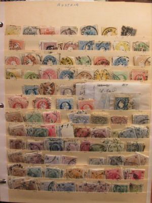 AUSTRIA - Nice mint and used selection of thousands of stamps covering over a century long period from the middle of the 19th century going all the way to the 1980s. The selection includes high quality issues from number of different time period, but the