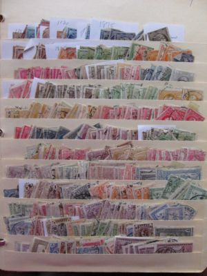 GREECE - GREEK AREA - An extensive stock selection of close to 8,000 mint and used issues covering the entirety of Greek philately from Hermes Heads (couple hundred issues in total) all the way to modern issues from the mid 1970s and numerous stamps that