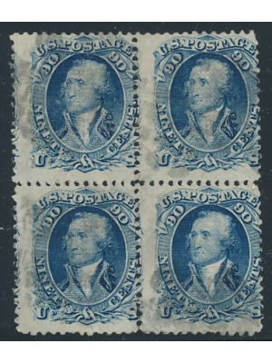 (101), block of four, FINE, a rare find