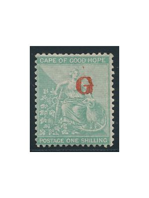 (16), VERY FINE, og Griqualand West stamps were issued for a short period of time by the Griqua people