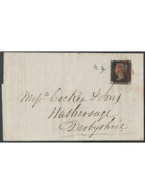 (1), on folded letter, VERY FINE