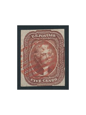 (12), red cancel, VERY FINE