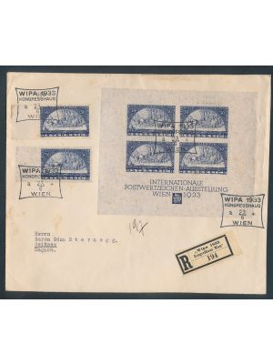 (B110, B110a, B111), all tied on one cover, light tones. VERY FINE