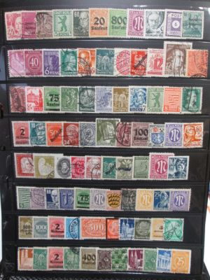 GERMANY - OVER 1500 MOSTLY DIFFERENT STAMPS. Very high quality and very diverse. Very high catalogue value. VERY FINE