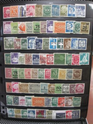 GERMANY - VERY DIVERSE SELECTION OF OVER 1500 STAMPS. All VERY FINE. Very high catalogue value