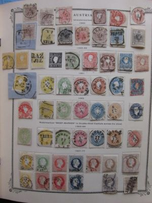 AUSTRIA & CENTRAL EUROPE - HIGH QUALITY COLLECTION, loaded with premium and stored in a nice Scott Specialty Album without duplication. The collection begins with wonderful first issues of Austria followed by a nearly complete run through the 19th and ear