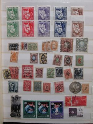 CLASSIC RUSSIA - SPECIALIZED SELECTION OF HUNDRED OF STAMPS, many better. Huge catalogue value