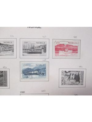 NORWAY - LOVELY COLLECTION WITH PREMIUM - 401804
