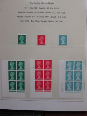 GREAT BRITAIN - HIGHLY COMPLETE MINT SPECIALIZED COLLECTION - 405335