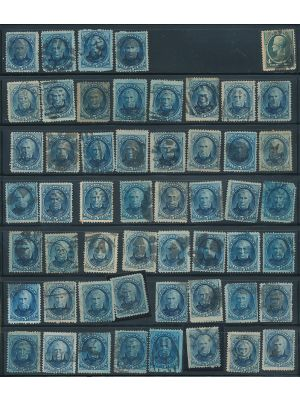 179 & 180 (53 STAMPS) - 401875
