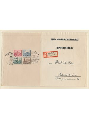 (B33), First Day Cover, VERY FINE  (MI €3000)