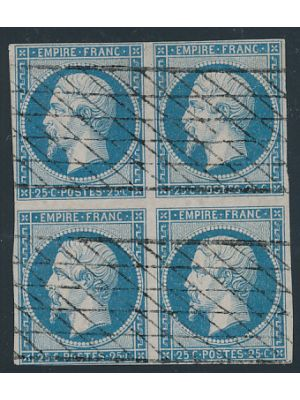 (17), block of 4, VERY FINE