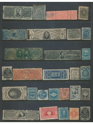 HIGH QUALITY EXTENSIVE SELECTION -  Massive selection of close to 15,000 mint and used stamps primarily dealing with the philatelic history of United States in the 19th century and first half of the 20th century organized mostly on stockpages and album pa
