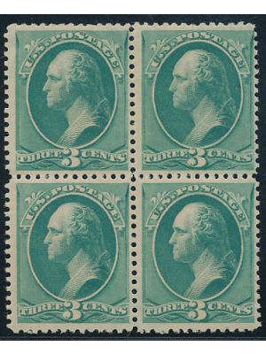 (207), block of 4, VERY FINE, og, NH