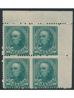 (258), F-VF, block of 4 og, NH - 402593