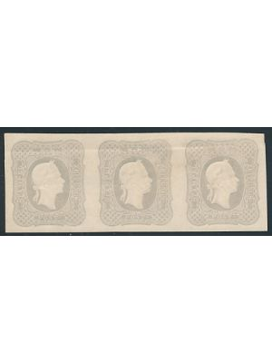 P7, STRIP OF 3,VERY FINE, og, - 402649