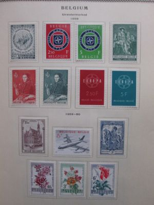 BELGIUM - HIGHLY COMPLETE, HIGH QUALITY COLLECTION - 405892