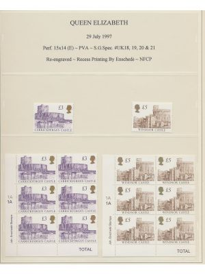 (1446a-1448a), single & block of six, EXTREMELY FINE, og, NH - 403091