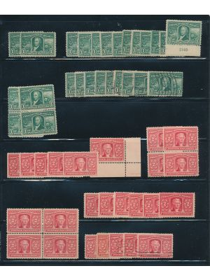 (323-327), mint & used stock selection - 403414
