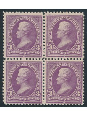(253), block of four, VERY FINE, og - 403645
