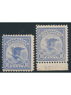 (F1), two examples, VERY FINE, og, NH - 403650