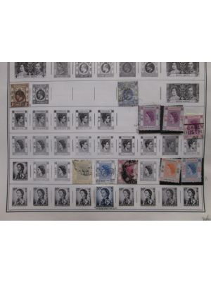HONG KONG - MINT COLLECTION OF HUNDREDS OF STAMPS - 403773