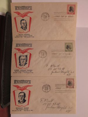 (803-834), each on FDC, VERY FINE - 403785