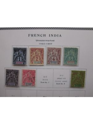 FRENCH COLONIES - FANTASTIC SIX VOLUME COLLECTION - 403847