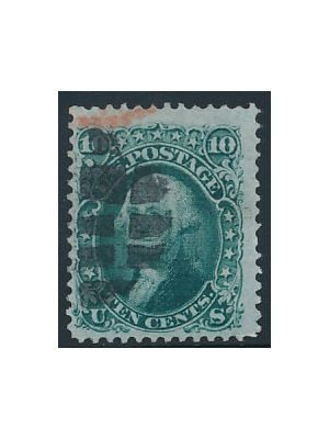 (96), with red cancel top left, VERY FINE