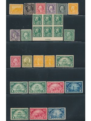 MOSTLY MINT PREMIUM SELECTION 1920-1941 - 404057