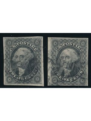 (17), two stamps, VERY FINE Stamps